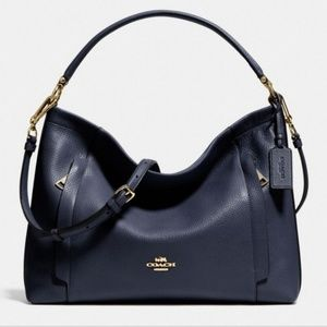 Coach Navy Scout Hobo Bag